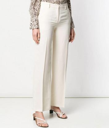 Классические брюки TWIN-SET 191TT2292 кремовые