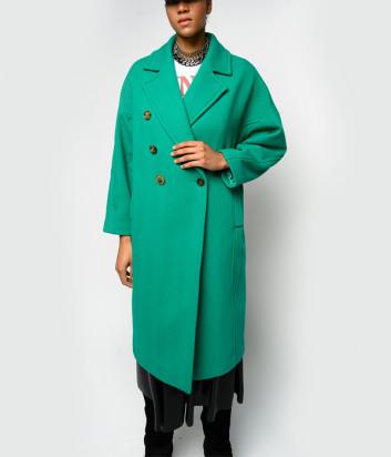 Пальто PINKO 1B14WG 8327 зеленое