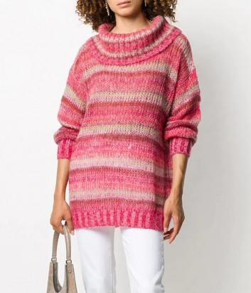Пуловер TWIN-SET 202TP3270 розовый