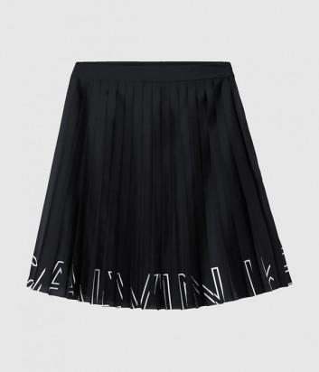 Юбка-плиссе CALVIN KLEIN Jeans J20J215140 черная