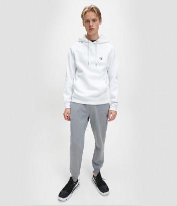Толстовка с капюшоном CALVIN KLEIN Jeans J30J315713 белая