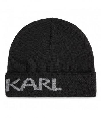 Шапка KARL LAGERFELD 805601 502322 черная