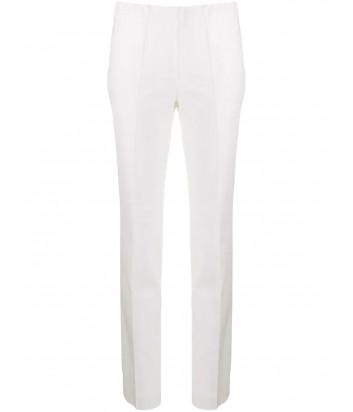 Узкие брюки P.A.R.O.S.H. LILIUXY D220003X с завышенной талией белые