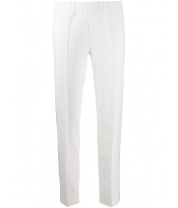 Молочные брюки D.EXTERIOR 51851 с эластичным поясом