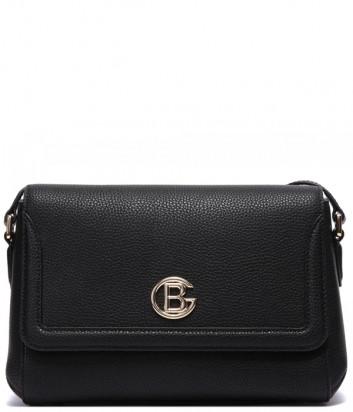 Кожаная сумка BALDININI 022999 через плечо черная
