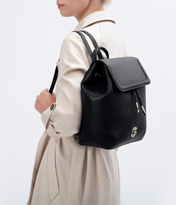 Кожаный рюкзак BALDININI 075999 черный