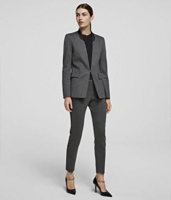 Брючный костюм KARL LAGERFELD 206W1412-1007 серый