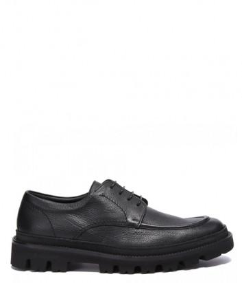 Кожаные туфли-дерби BALDININI 147158 черные