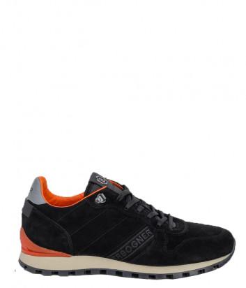 Замшевые кроссовки BOGNER 103-2851 черные