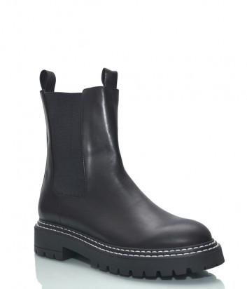 Кожаные ботинки челси HELENA SORETTI 5260 черные