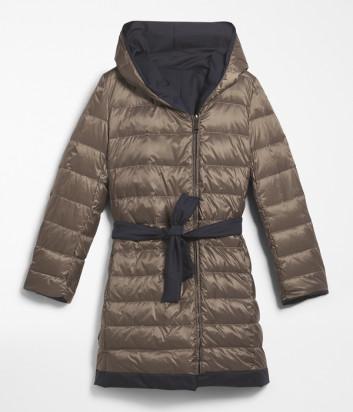 Двусторонний пуховик-куртка WEEKEND Max Mara EGUALE WE54960503 из непромокаемой ткани