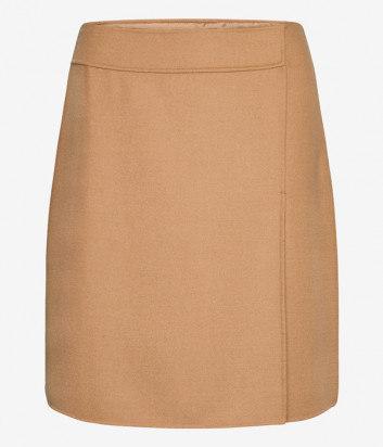 Шерстяная юбка WEEKEND Max Mara CONDOR WE51060103 бежевая