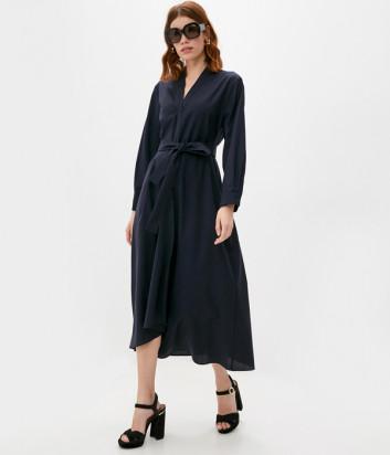 Шерстяное платье WEEKEND Max Mara FUMATO WE52261303 синее