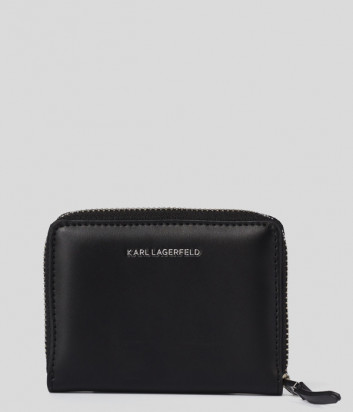 Кожаный кошелек KARL LAGERFELD IKONIK CHOUPETTE 206W3201 на молнии