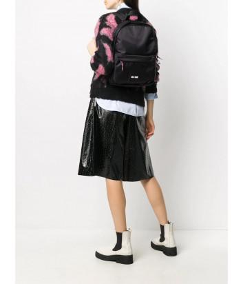 Рюкзак MSGM 2941MDZ26073 с внешним карманом черный