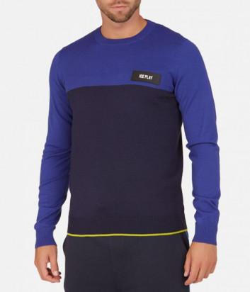 Мужской пуловер ICE PLAY A005 9001 синий
