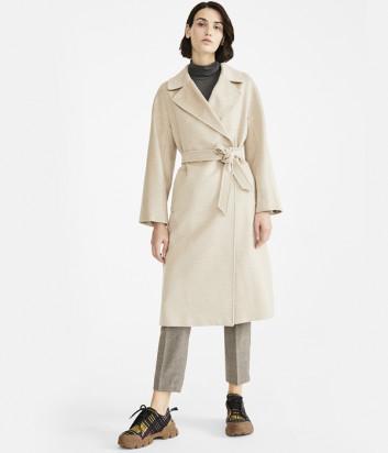 Классическое пальто WEEKEND Max Mara RESINA WE50160203 кремовое