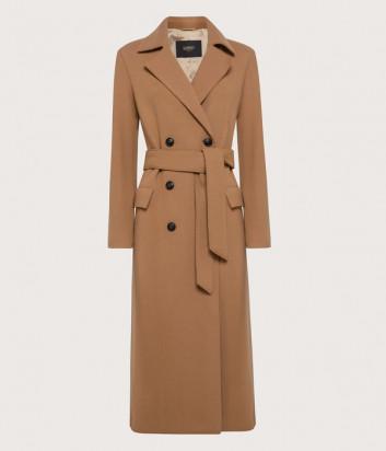 Длинное пальто SEVENTY CP0378150226015 карамельное