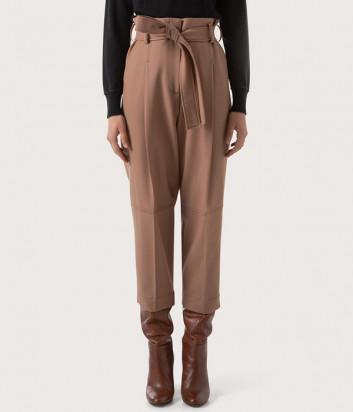 Укороченные брюки SEVENTY PT0930180008034 карамельные