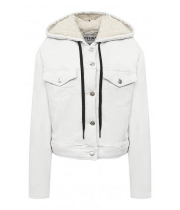 Джинсовая куртка ICEBERG O0316200 с капюшоном белая