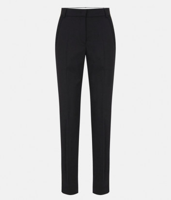 Классические брюки ICEBERG B1513119 черные с лампасами в тон