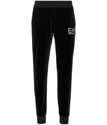 Бархатный костюм EA7 Emporio Armani 6HTM17TJ4GZ черный