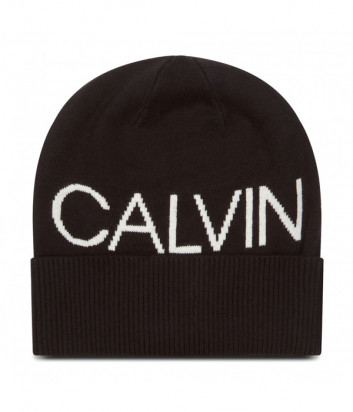 Шапка CALVIN KLEIN Jeans K50K506226 черная с логотипом