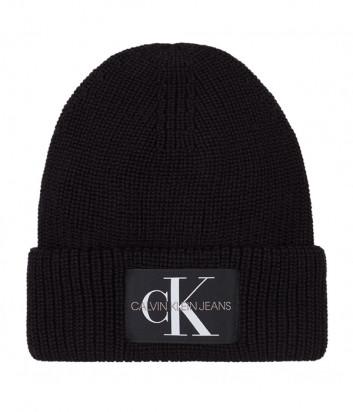 Шапка CALVIN KLEIN Jeans K50K506242 черная с логотипом