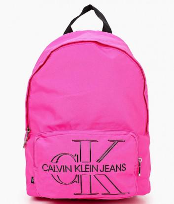 Рюкзак CALVIN KLEIN Jeans K60K607618 с внешним карманом розовый