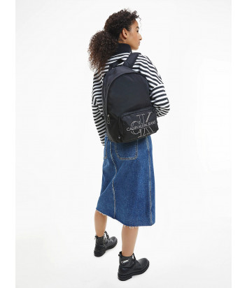 Рюкзак CALVIN KLEIN Jeans K60K607618 с внешним карманом черный