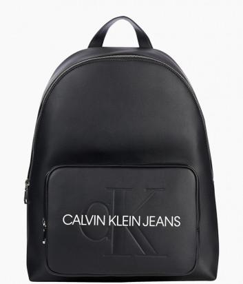 Рюкзак CALVIN KLEIN Jeans K60K607201 с внешним карманом черный
