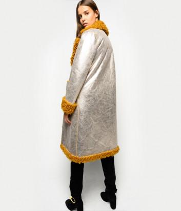 Двухстороннее пальто PINKO 1B14NP из искусственной овчины