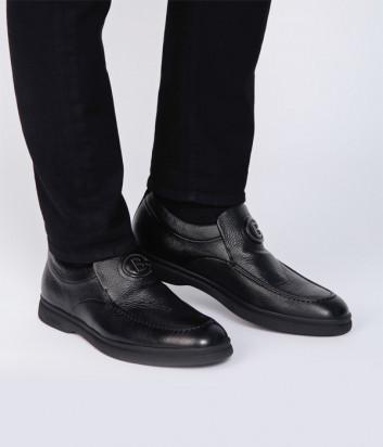 Кожаные туфли BALDININI 147465 черные