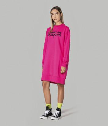 Платье COMME des FUCKDOWN CDFD1121 цвета фуксии