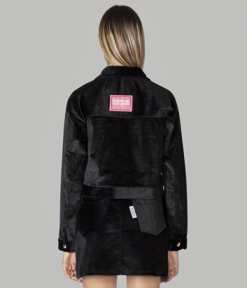 Вельветовый костюм COMME des FUCKDOWN CDFD1307/1310 олимпийка и брюки черный