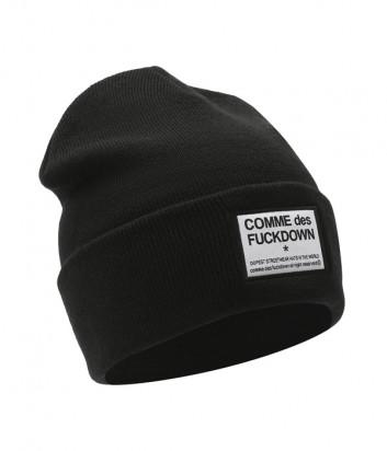 Шапка COMME des FUCKDOWN CDFA503 черная