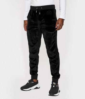 Велюровые спортивные брюки KARL LAGERFELD 705030 502912 черные