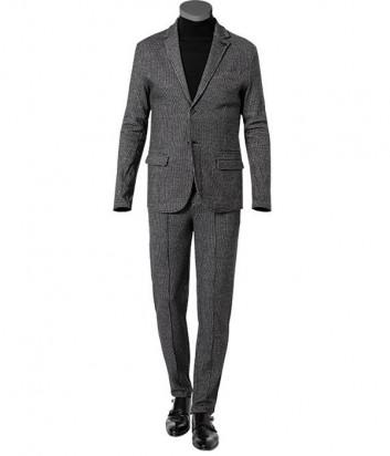Классический брючный костюм KARL LAGERFELD 705038/39 502913 серая мелкая клетка