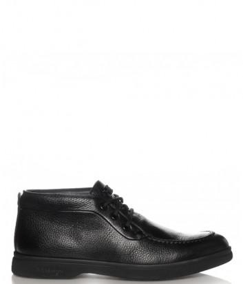 Кожаные ботинки BALDININI 147467 черные
