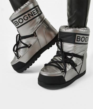 Ботинки-луноходы BOGNER 208K923 серебристые