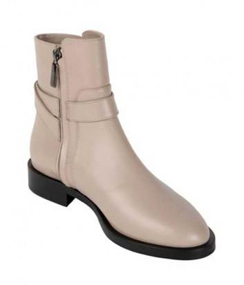 Кожаные ботинки GIORGIO FABIANI 191550 кремовые