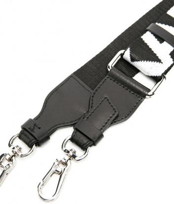 Съемный плечевой ремень KARL LAGERFELD 210W3999 черный с большим логотипом