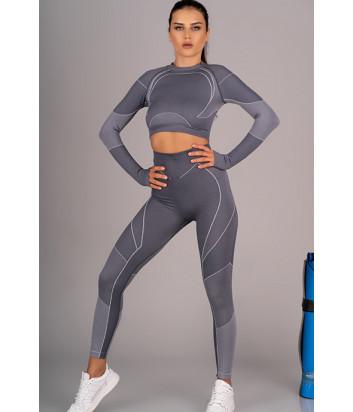 Спортивный костюм MERRIBEL 847-1757 серый