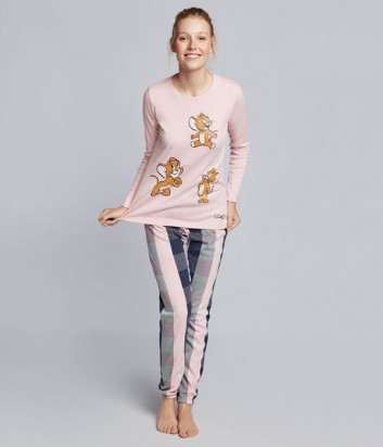 Женская пижама GISELA 21721 с изображением мышонка Джерри