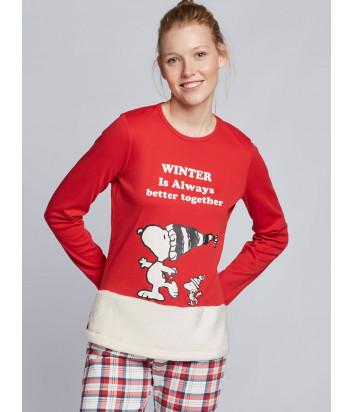 Женская пижама GISELA 21745 с изображением Snoop Dogg