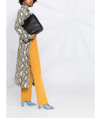 Кожаная сумка-хобо FURLA Ester M WB00015 черная