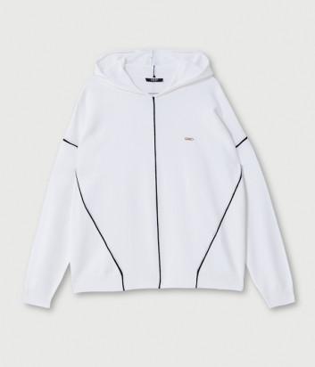 Джемпер с капюшоном LIU JO Sport TF0099MA10L белый