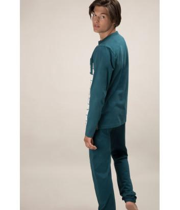 Мужская пижама GISELA 21493 бирюзовая