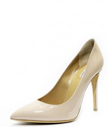 Классические туфли лодочки Emporio Armani из лаковой кожи цвета пудры ... 865015c44de