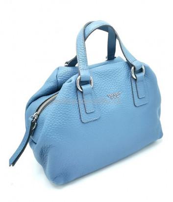 Голубая сумка TOSCA BLU TF20VB252 в зернистой коже